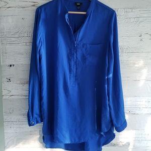 Mossimo royal blue tunic